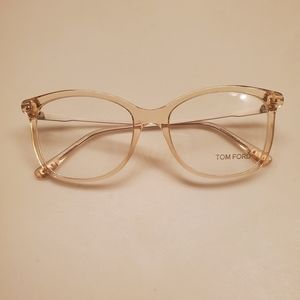 Authentic Tom Ford Clear Soft Square Eyeglasses